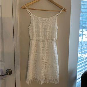 H&M 💕white crochet dress